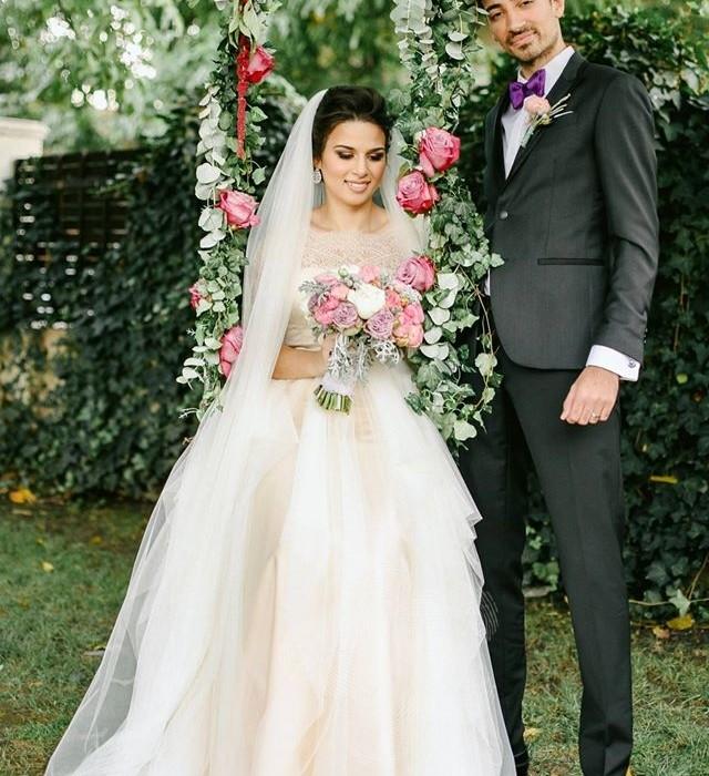 Decor-nunta-La-Seratta-buchet-mireasa-aranjamente-florale-nunta-tema-lavanda